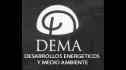 logo de Desarrollos Energeticos y Medio Ambiente Dema