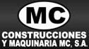 logo de Construcciones Y Maquinaria Mc