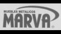 Logotipo de Muebles Metalicos Marva
