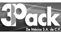 Logotipo de 3Pack de Mexico